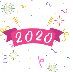 Happy New Year Clipart 2020 97