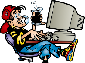 computer png cartoon ordinateur