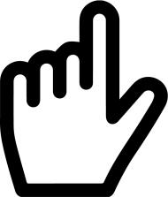 cursor png vector hand Mauszeiger
