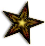 logo bintang black star png